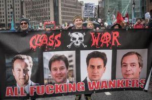 class war banner